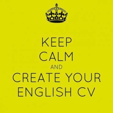 Curriculum vitae exemplo em ingles
